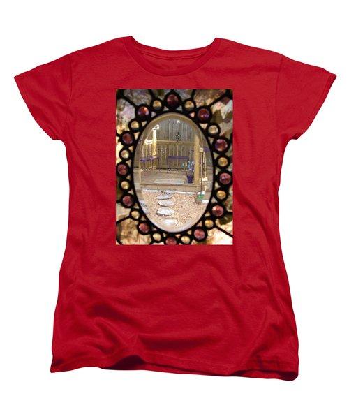 Glass Menagerie Women's T-Shirt (Standard Cut) by Priscilla Richardson