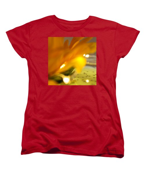 Women's T-Shirt (Standard Cut) featuring the photograph Glow by Bobby Villapando