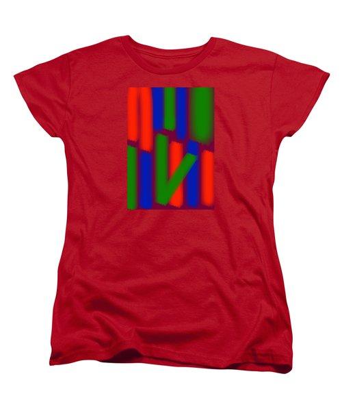 Glow Sticks Women's T-Shirt (Standard Cut) by Karen Nicholson