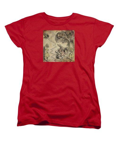 Go Ask Alice Women's T-Shirt (Standard Cut) by Diana Boyd