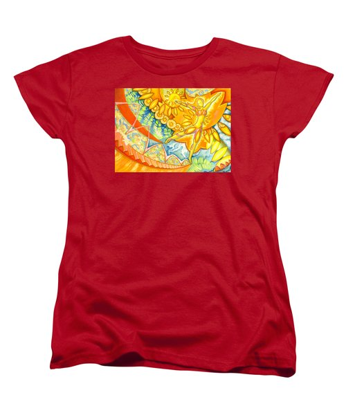 Go Confidently In The Direction Of Your Dreams Women's T-Shirt (Standard Cut) by Mark Stankiewicz