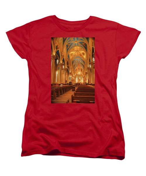 God Do You Hear Me Women's T-Shirt (Standard Cut) by Ken Smith