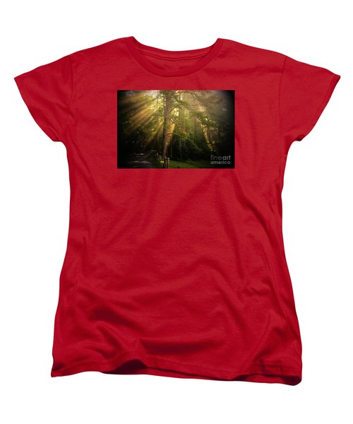 God's Light 2 Women's T-Shirt (Standard Cut) by Geraldine DeBoer