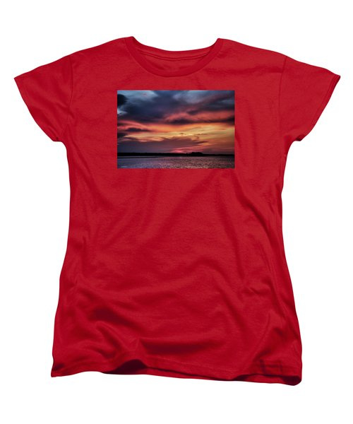 Women's T-Shirt (Standard Cut) featuring the photograph God's Paintbrush by Phil Mancuso