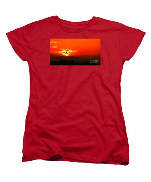 Going Home Women's T-Shirt (Standard Cut) by Charuhas Images