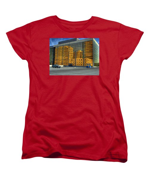 Gold In The Bank Women's T-Shirt (Standard Cut) by Farol Tomson