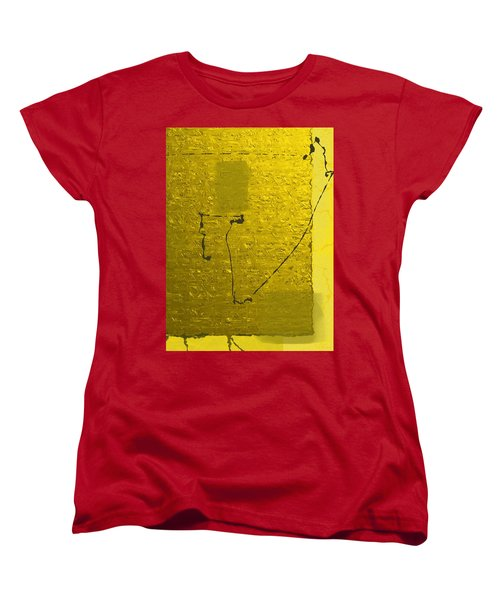 Gold Parchment Women's T-Shirt (Standard Cut)