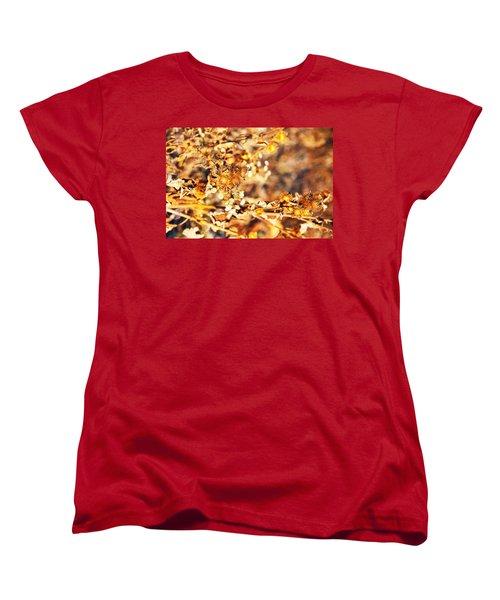 Gold Rush Women's T-Shirt (Standard Cut) by Jose Rojas