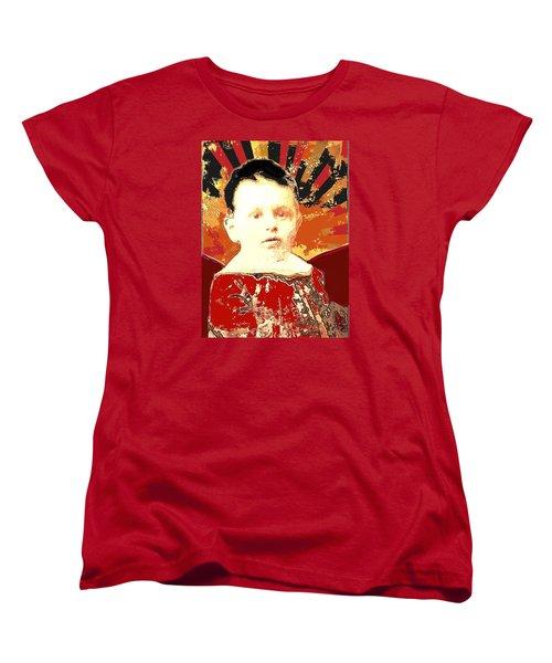 Golden Boy Women's T-Shirt (Standard Cut)