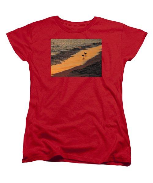 Golden Light At Sunset Women's T-Shirt (Standard Cut)