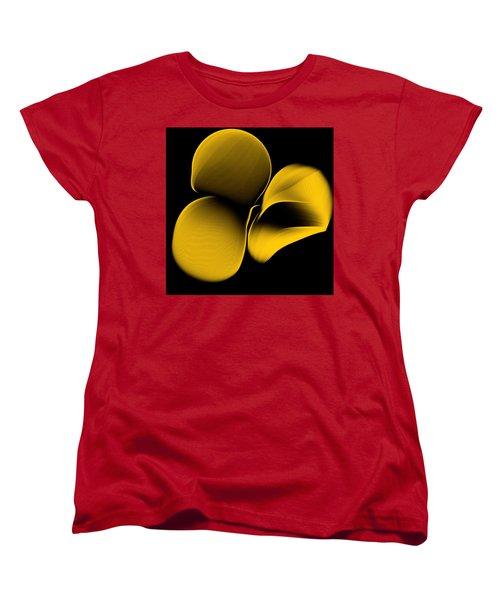 Golden Pantomime Women's T-Shirt (Standard Cut) by Danica Radman