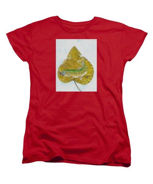Golden Trout Women's T-Shirt (Standard Cut) by Ralph Root