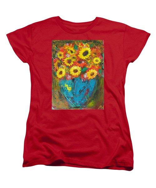 Good Morning Sunshine Women's T-Shirt (Standard Cut) by Maria Watt
