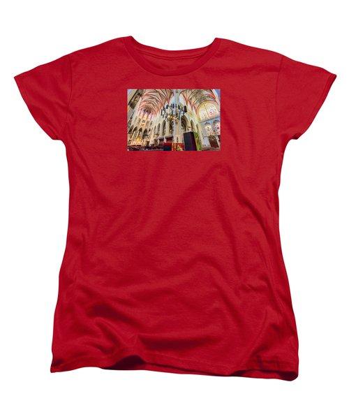 Gothic Church Women's T-Shirt (Standard Cut) by Nadia Sanowar