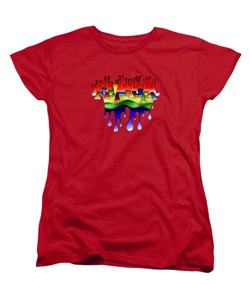 Grafenonci V4 - Digital Abstract Women's T-Shirt (Standard Fit)
