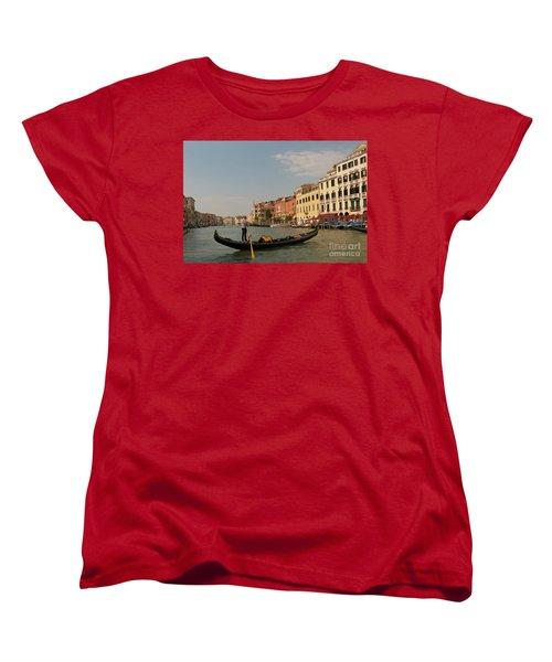 Grand Canal Gondola Women's T-Shirt (Standard Cut) by Loriannah Hespe