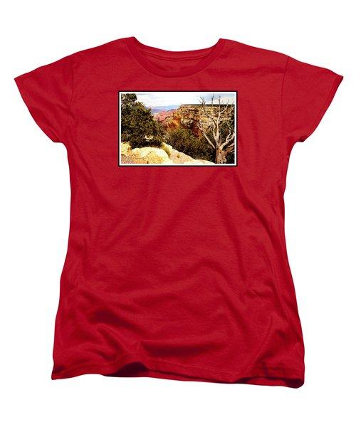 Grand Canyon National Park, Arizona Women's T-Shirt (Standard Cut) by A Gurmankin