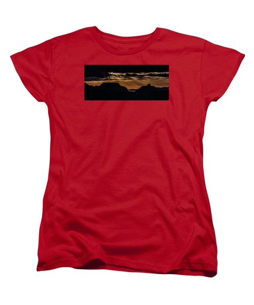 Grand Canyon Sunset Women's T-Shirt (Standard Cut) by Phil Abrams