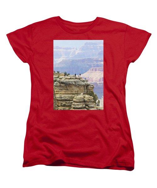 Women's T-Shirt (Standard Cut) featuring the photograph Grand Canyon Vista by Chris Dutton