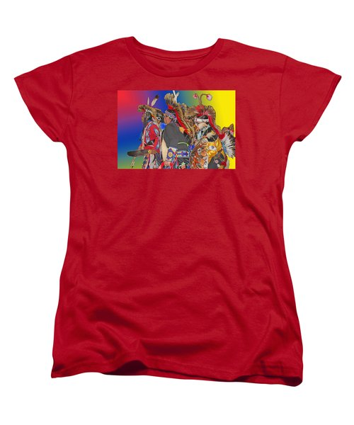 Grand Entrance Women's T-Shirt (Standard Cut) by Audrey Robillard