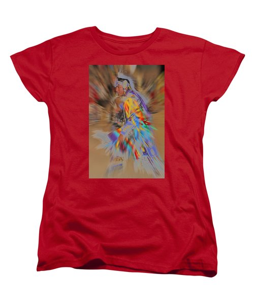 Grand Entry Moves Women's T-Shirt (Standard Cut) by Audrey Robillard