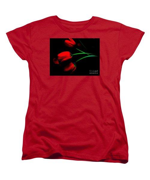 Gratitude Women's T-Shirt (Standard Cut) by Elfriede Fulda