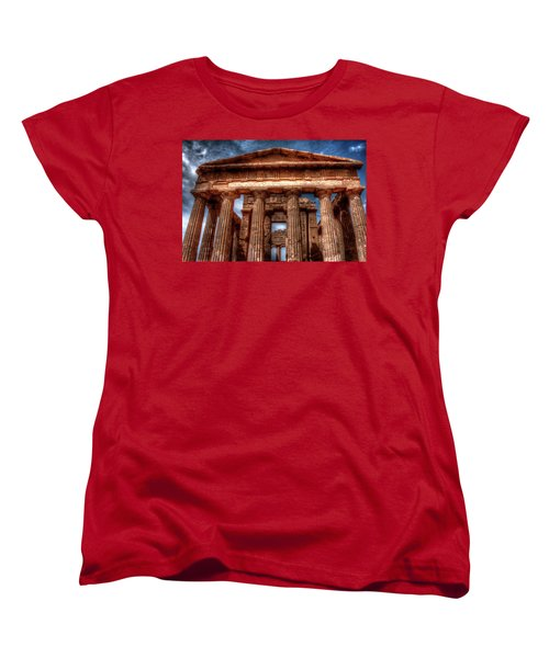 Temple Of Concord  Women's T-Shirt (Standard Cut) by Patrick Boening