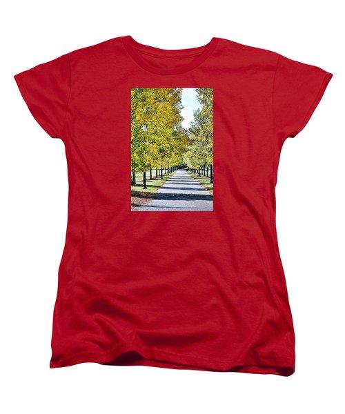 Green Bower Women's T-Shirt (Standard Cut) by JAMART Photography
