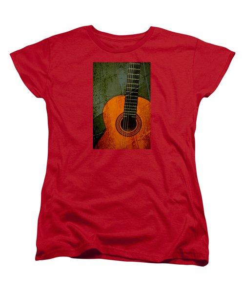 Green Canvas Women's T-Shirt (Standard Cut)