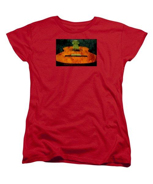 Green Face Women's T-Shirt (Standard Cut)