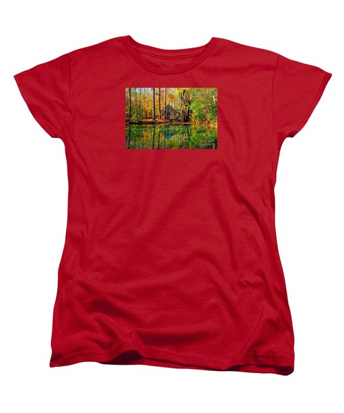 Grist Mill Women's T-Shirt (Standard Cut) by Geraldine DeBoer