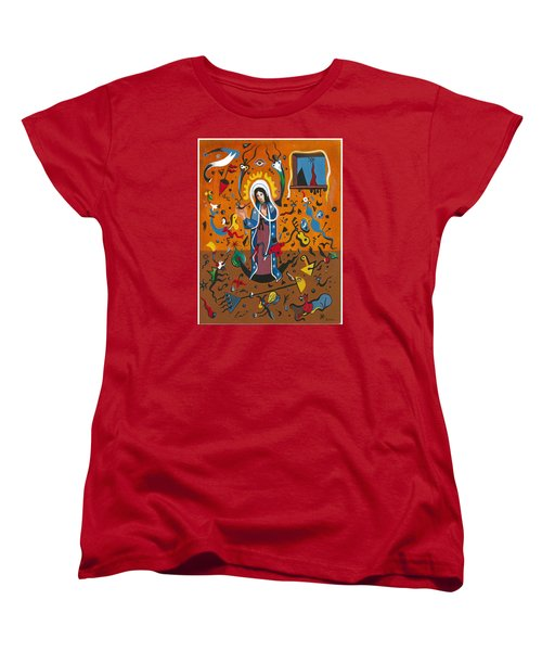 Guadalupe Visits Miro Women's T-Shirt (Standard Cut) by James Roderick