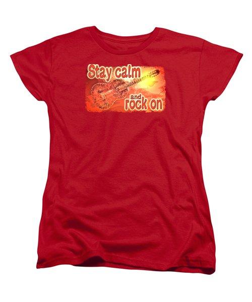 Guitar Fantasy Three Women's T-Shirt (Standard Cut) by Richard Farrington
