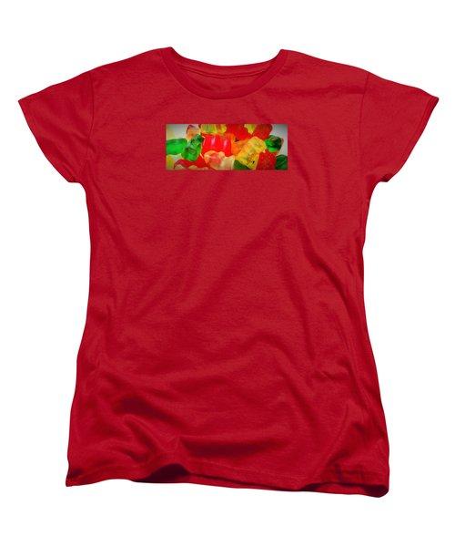 Gummies Women's T-Shirt (Standard Cut) by Martin Cline