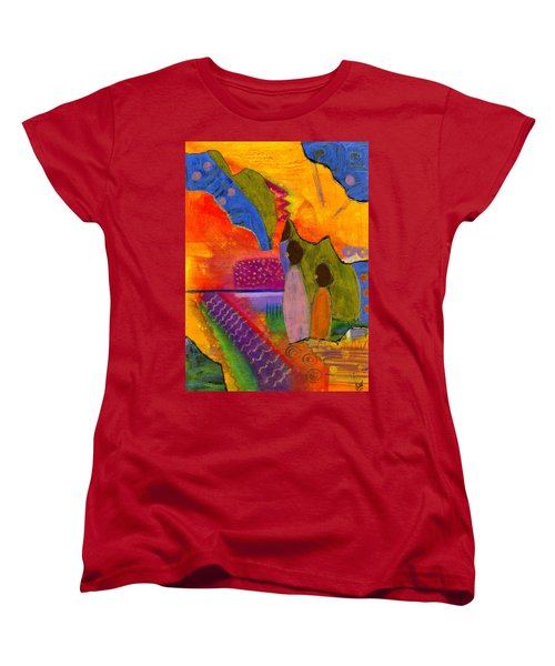 Hallelujah Praise Women's T-Shirt (Standard Cut) by Angela L Walker