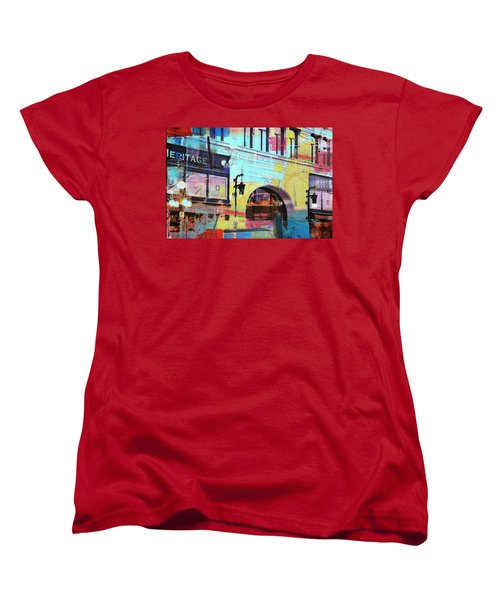 Women's T-Shirt (Standard Cut) featuring the photograph Hamm Building St. Paul by Susan Stone