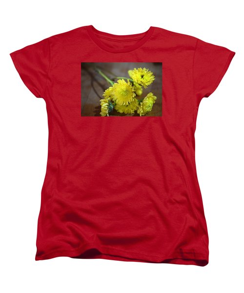 Women's T-Shirt (Standard Cut) featuring the photograph Handful For You by Deborah  Crew-Johnson