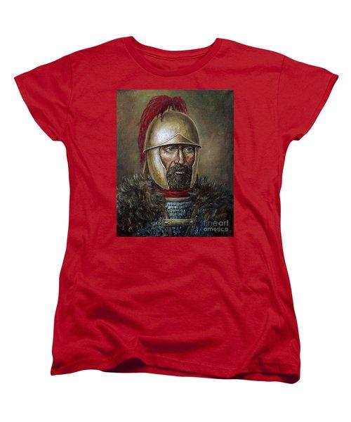Hannibal Barca Women's T-Shirt (Standard Cut) by Arturas Slapsys