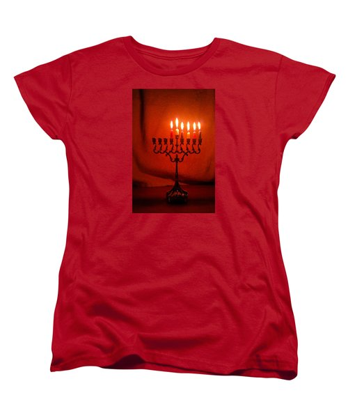 Hanukkah On Fifth Day Women's T-Shirt (Standard Cut)