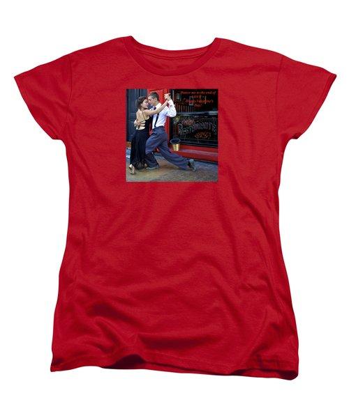 Happy Valentine's Day Women's T-Shirt (Standard Cut) by Venetia Featherstone-Witty