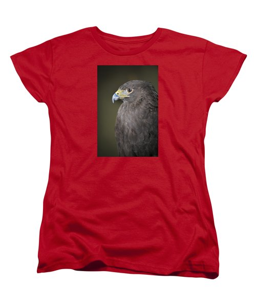 Women's T-Shirt (Standard Cut) featuring the photograph Harris Hawk by Tyson and Kathy Smith