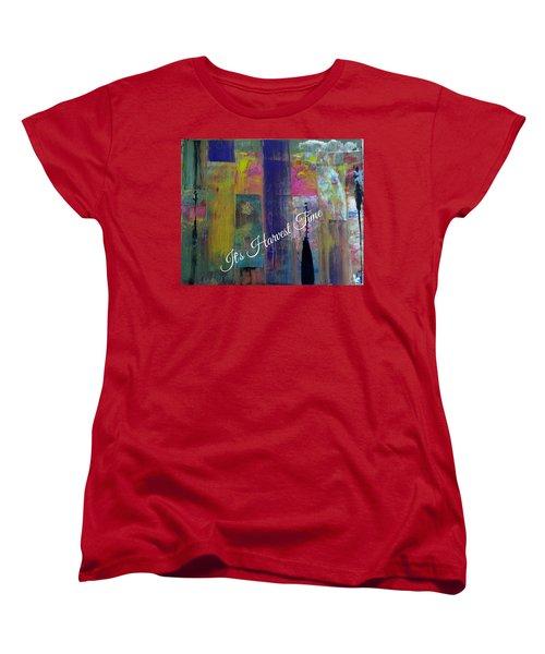 Harvest Time Jubilee Women's T-Shirt (Standard Cut) by Kelly Turner