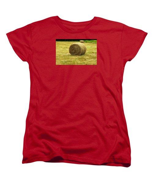 Hay Bale  Women's T-Shirt (Standard Cut)