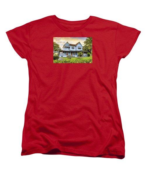 Hayes Court Women's T-Shirt (Standard Cut) by Nadia Sanowar