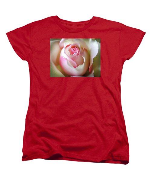 Women's T-Shirt (Standard Cut) featuring the photograph He Loves Me Still by Karen Wiles