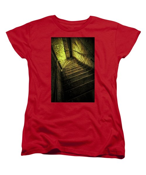 Women's T-Shirt (Standard Cut) featuring the photograph Head Full Of Drought by Russell Styles