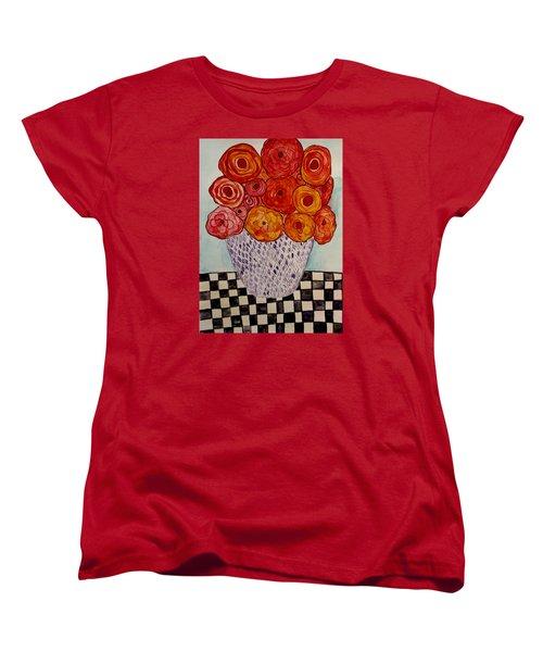 Heart And Matter Women's T-Shirt (Standard Cut) by Lisa Aerts