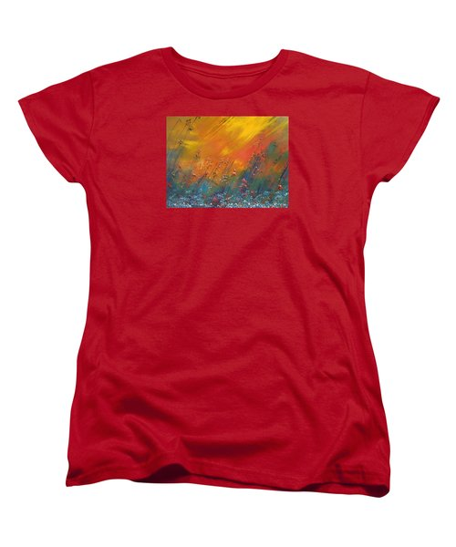 Heartland  Women's T-Shirt (Standard Cut) by Dan Whittemore