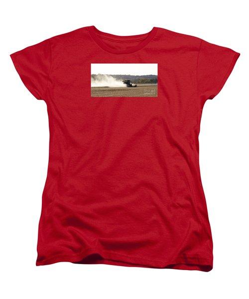 Women's T-Shirt (Standard Cut) featuring the photograph Heartland Harvest  by J L Zarek