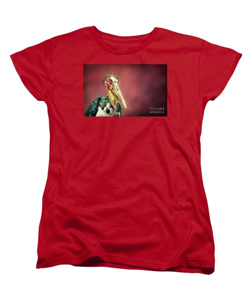Hello Women's T-Shirt (Standard Cut) by Charuhas Images